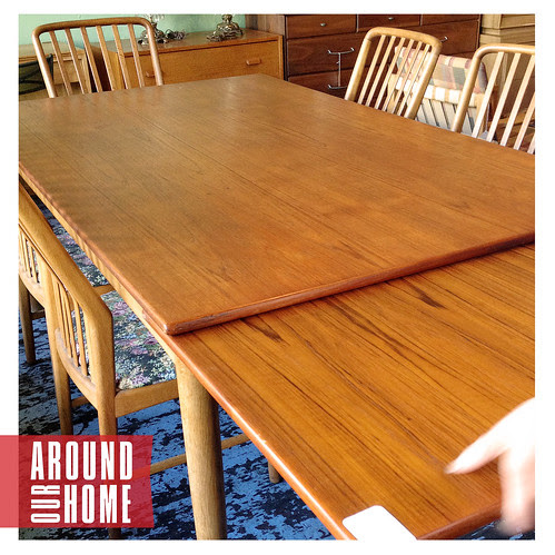 Best of 2013: 10. Our New Dining Table