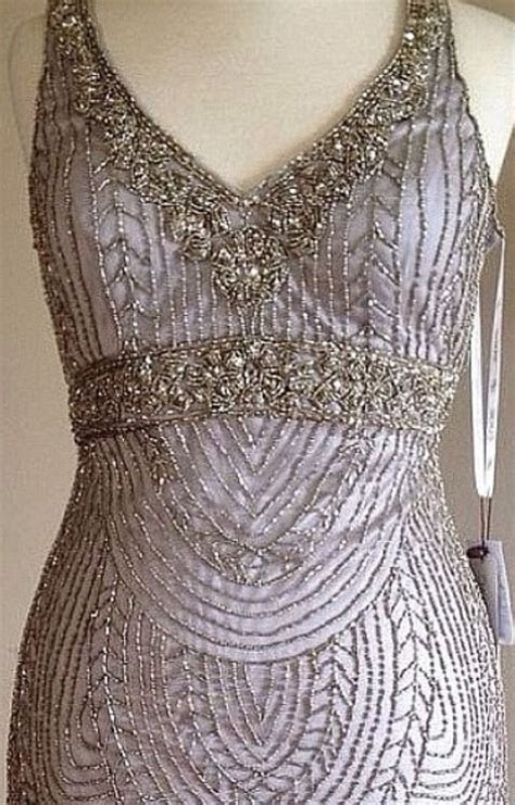 Details about ? SUE WONG Champagne Beaded Wedding Bridal