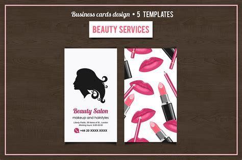Beauty Salon services cards design ~ Business Card