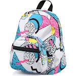 Zodaca Kids Small Backpack for Outdoor Shoulder School Zip Bag Adjustable Strap, Kids Unisex