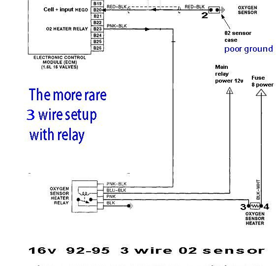 1996 Mustang O2 Sensor Wiring Diagram
