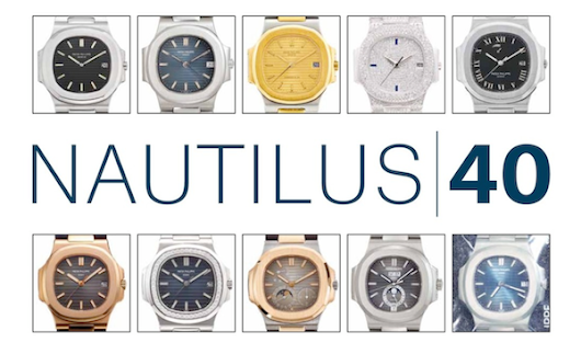 Christie's Auction in Hong Kong: Important Watches Including NAUTILUS 40 Part III | CHRONEXT