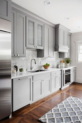 These 15 Grey and White Kitchens Will Have You Swooning