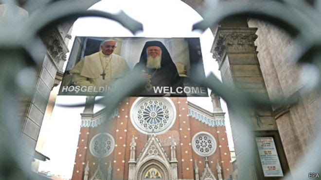 Istanbul chào đón Giáo hoàng Francis