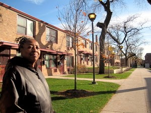 Beatrice Harris, resident leader at Wentworth Gardens. Photo by Cottrell, Megan.