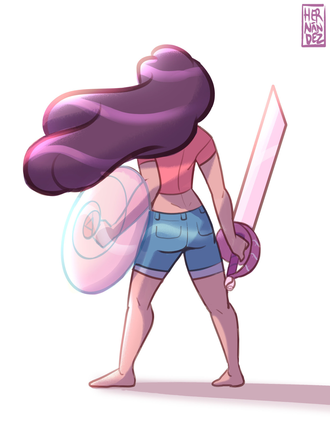 Stevonnie Sketch before bed because she was so awesome today! If you want to have your own my commission chart is...