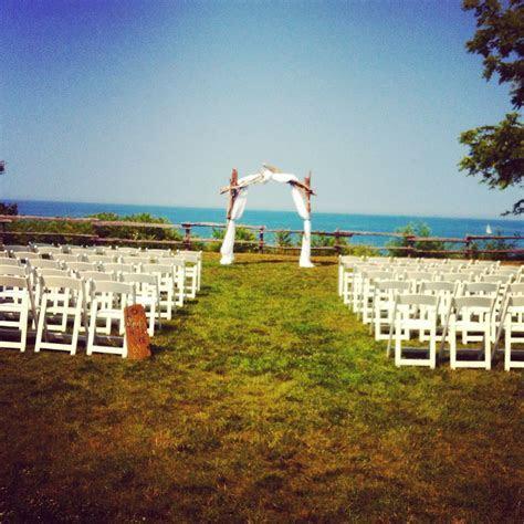Bayfield, Ontario   Waterfront Wedding Ceremony site