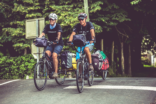 Cycling to the Finish Line on EuroVelo 6 in Germany and Austria - E-Bike Cycle Tourists
