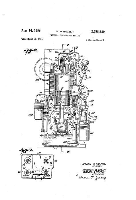 Patent US2758580 - Internal combustion engine - Google Patents