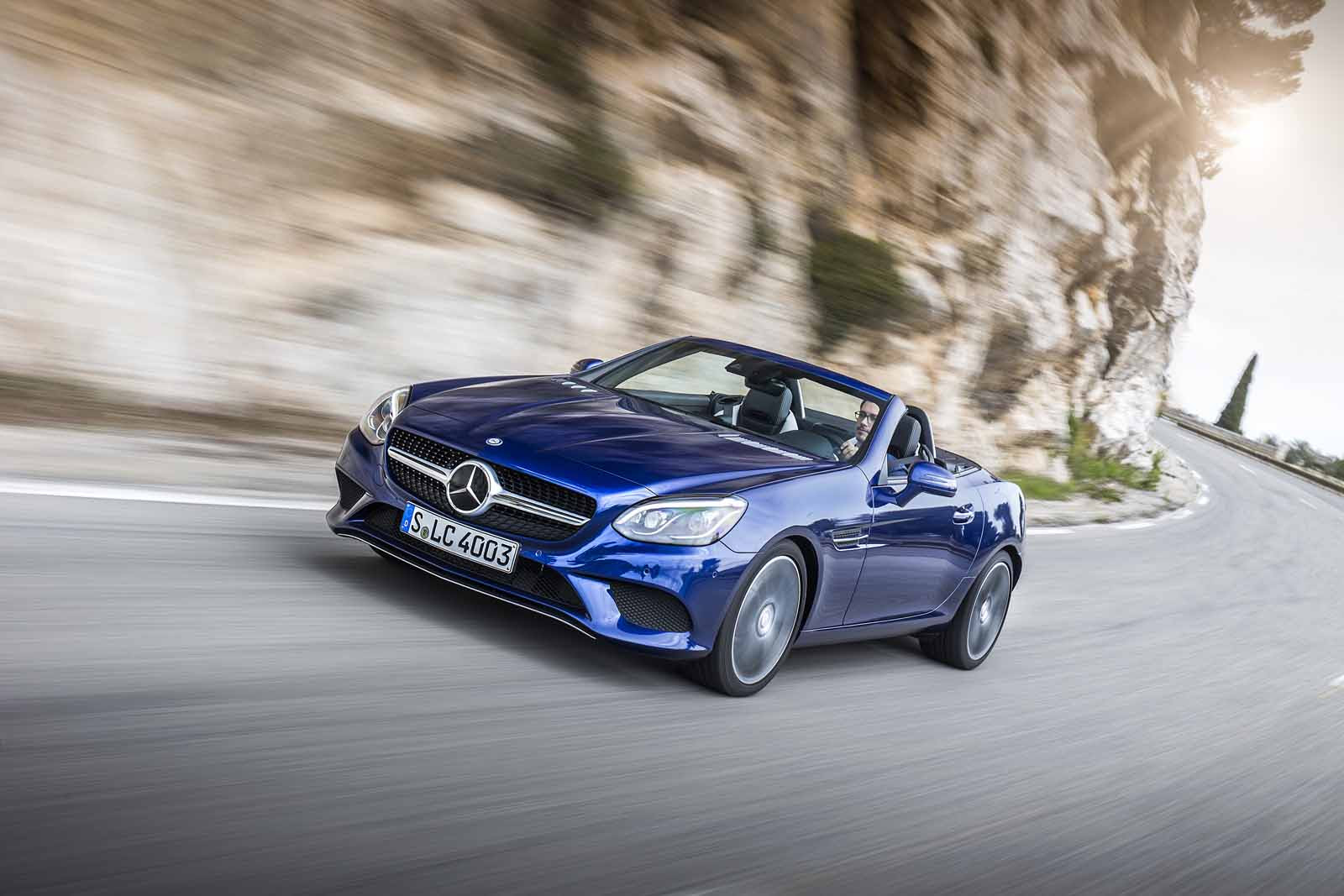 2017 Mercedes-Benz SLC 300 Roadster Review - AutoGuide.com ...