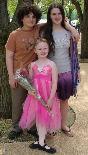 Ballet Recital and sibs
