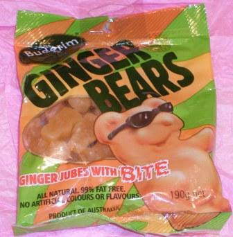 Blogging By Mail 10 Things: Ginger Candy (How cool is this!)