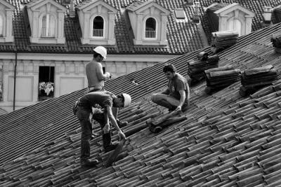 Sul tetto che scotta - Foto de kla! / Flickr