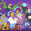 Simpsons Characters Illustrated as Spider-Man Comic Heroes & Villains