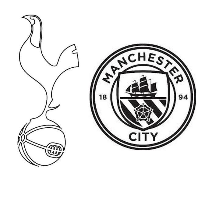 Coloriage Logo Manchester City