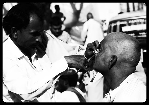 Removing The Nostril Hair - Pitru Paksh 2011 by firoze shakir photographerno1