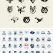 Vintage Woodcut Animals Vector Bundle | Design Share