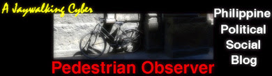 Pedestrian Observer Group Blog