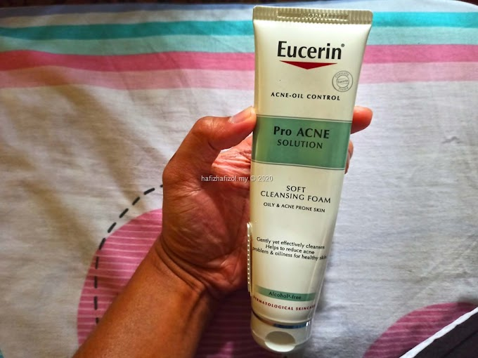 Muka Breakout Sebab Face Mask: Review Eucerin Pro Acne Solution