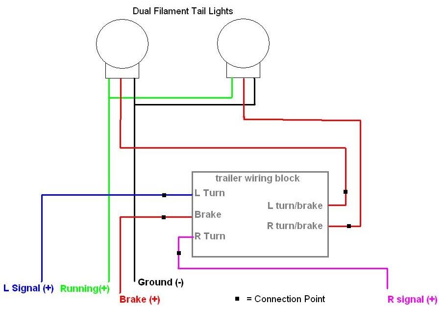 1994 Toyota Pickup Tail Light WiringAuto Diagram