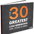 30 Lead Generation Tips, Trick & Ideas