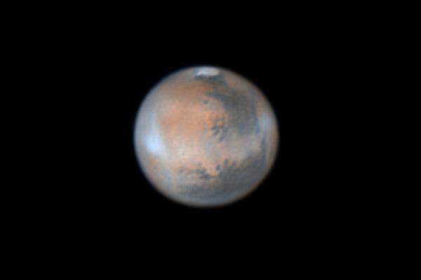 Фотография Марса 4 апреля 2014 года