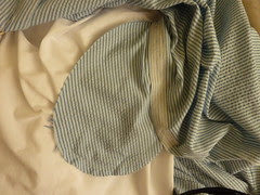 04 Full-gathered skirt - in-seam pockets