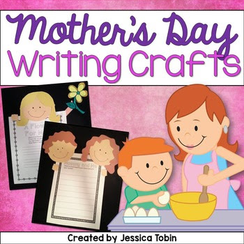 Mother's Day Craftivity and Writing Unit