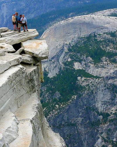 P1180384 Half Dome Trail: Top of Half Dome