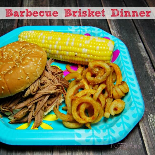Barbecue Dinner with Ore-Ida Bold & Crispy Fries - The TipToe Fairy