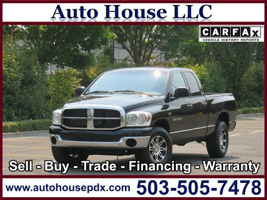 2007 Dodge Ram Pickup 1500 - Auto House LLC - Used Car Dealership - Portland OR
