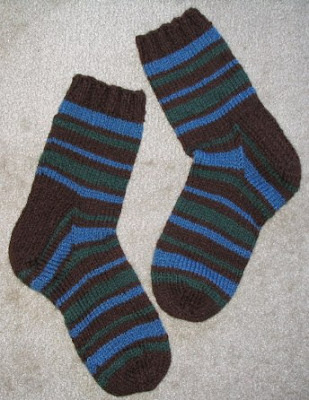 Bulky socks for around the house.