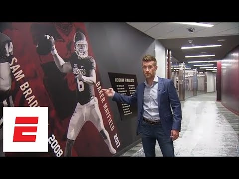 Marty Smith's exclusive tour of Oklahoma's football facilities