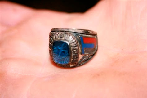 One that didn't get away yields long-lost ring