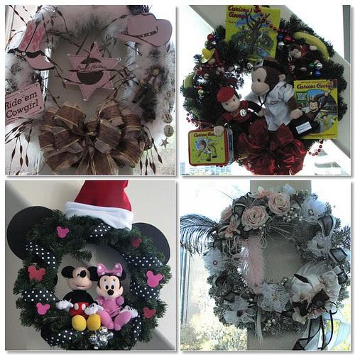 Mosaic wreaths
