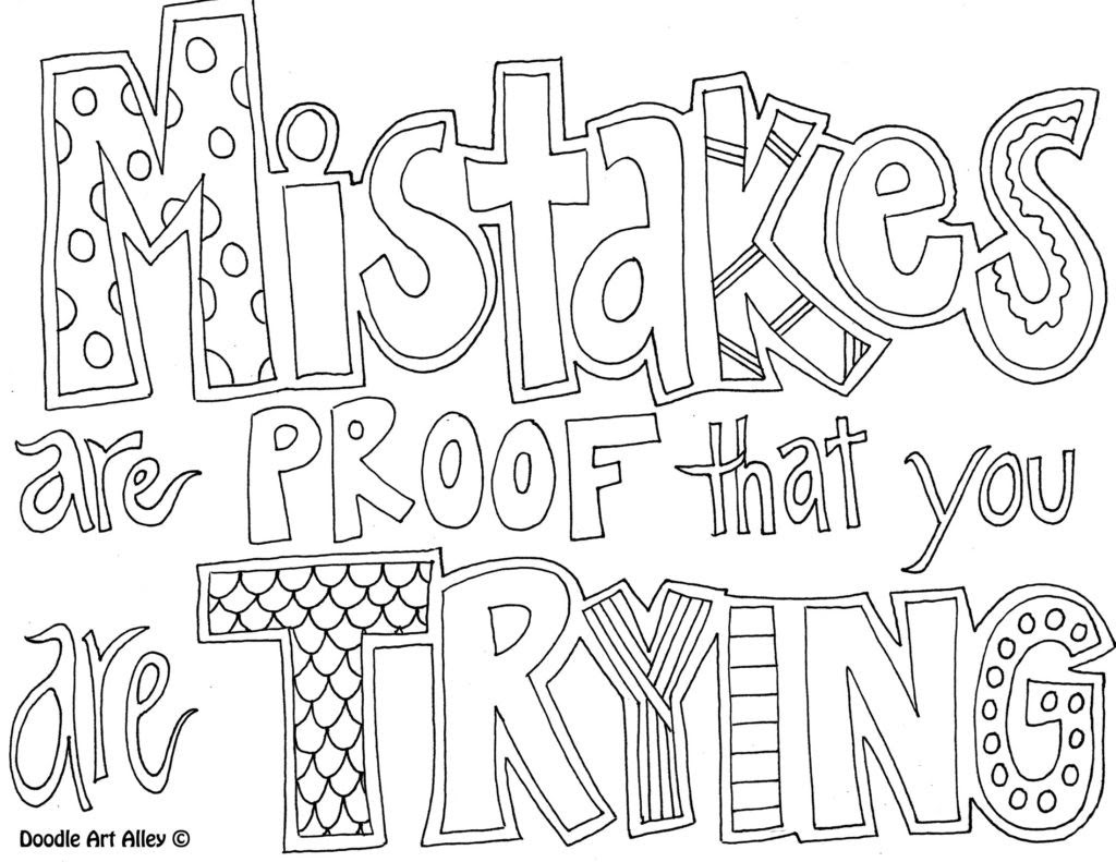 Printable Quote Coloring Pages at GetDrawings | Free download