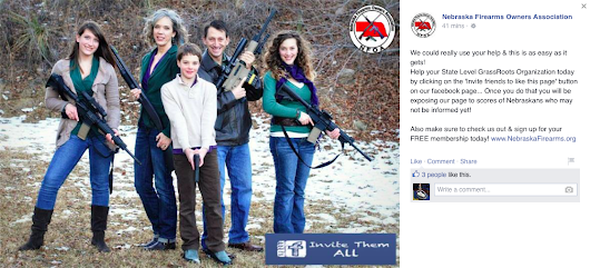Ari Kohen's Blog — This Facebook ad for the Nebraska Firearms Owners...