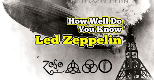 I got Certified Diamond Led Head!! How Well Do You Know Led Zeppelin?