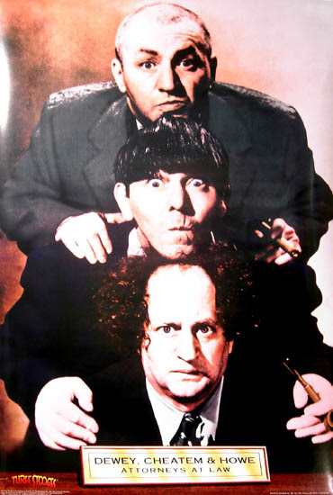 3 firm law names stooges law How you fictional firms can name? many