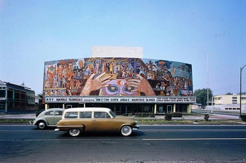 Mural De Cantinflas Por Diego Rivera
