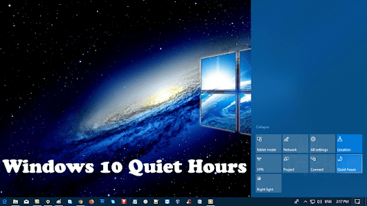 How to Manage Windows 10 Quiet Hours Settings