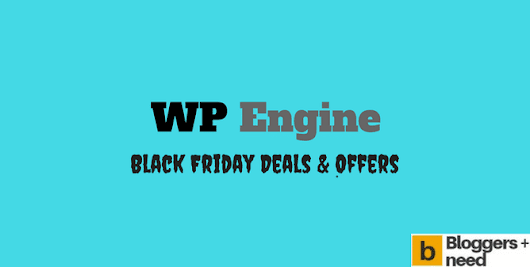 WP Engine Black Friday Day Deals 2017 Only for the lucky ones. Get the lates...