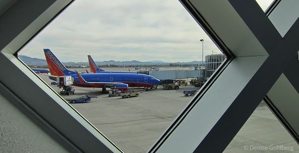 waiting for a plane, Las Vegas, Southwest Airlines