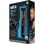 Braun BT3020 3-Piece Beard Trimmer Set - Black