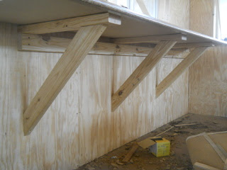 Kitchen Counter Bracing