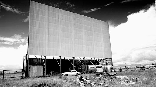 America's abandoned drive-in movie theaters
