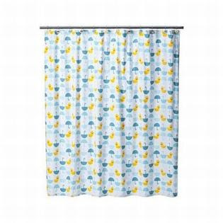 Jumping Beans Lucky Duck Fabric Shower Curtain from Sears.