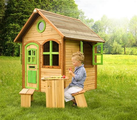 kinder spielhaus holz axi julia kinderspielhaus ebay