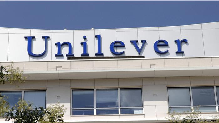 LOGO UNILEVER Firmenzentrale Paris Frankreich (Getty Images)