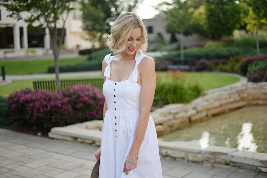 Sleeveless White Midi Dress + Link Up - Straight A Style